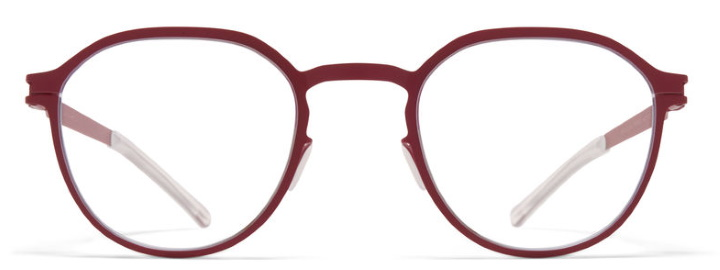 Lunettes Mykita rondes rouge