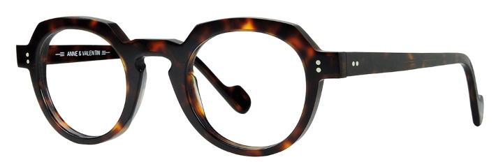 lunettes anne et valentin écaille ronde