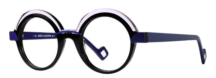 lunettes anne et valentin rondes noir