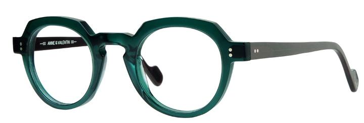lunette anne et valentin vert