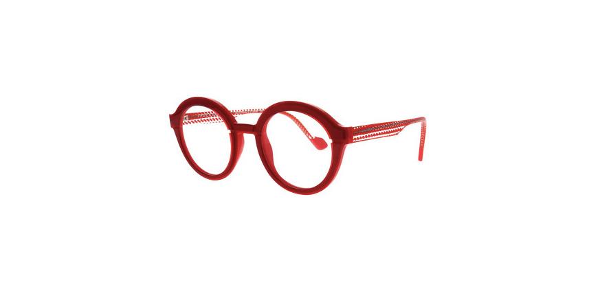 Lunettes de vue pour femme modèle Hollow 1 rouge